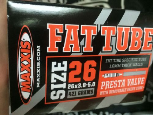 Maxxis Fat Tube Fatbike Inner Tube (26 x 3.8-5.0)